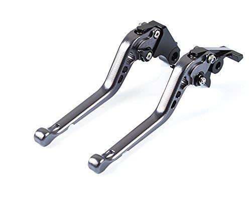 Tencasi Titanium CNC 3D Long Adjustable Brake Clutch Lever for BMW F800GS 2008-2017F800R 2009-2017F800GT 2013-2017F800ST 2006-2015F800S 2006-2014F700GS 2013-2017F650GS 2008-2012