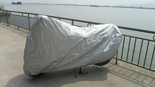Silver Motorcycle cover For YAMAHA R-1  R-6 L