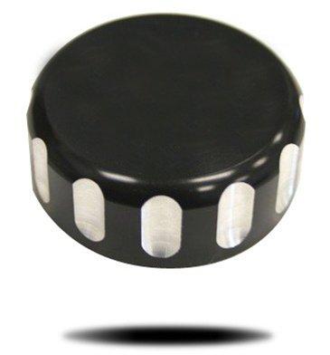 YANA SHIKI YANASHIKI - Brake Cylinder Cover - Rear Billet Anodized Black LRC Engraved for YAMAHA R1 1998-2003 Product code A3033ABLRC
