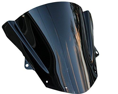 MOTORTOGO Racing Windscreen Winshield for 2016 Kawasaki Ninja ZX-6R 636 ABS