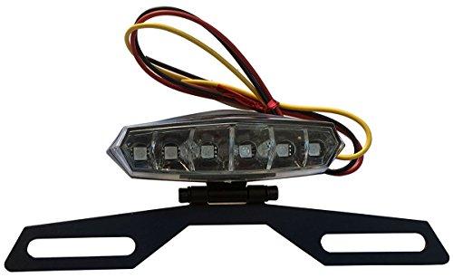 6 LED License Plate Holder Light Lamp for 1996 Yamaha Virago 750 XV750