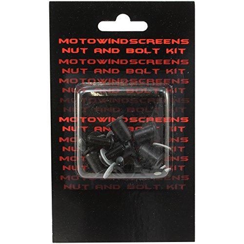 MotoBrackets Windscreen Nut and Bolt Kit Fits 2003-2006 Honda CBR600RR
