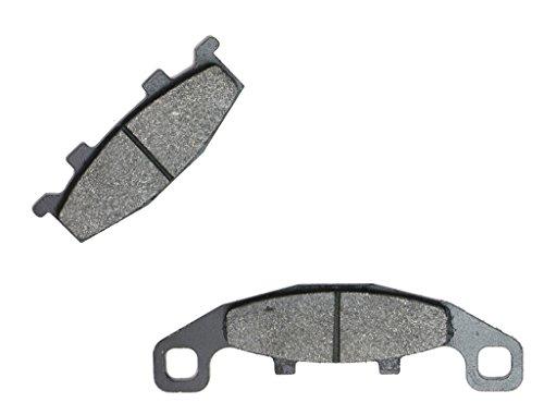CNBK Front Right Brake Shoe Pads Semi-met for SUZUKI Street Bike GSF400 GSF 400 Bandit GK75B F610 91 92 1991 1992 1 Pair2 Pads