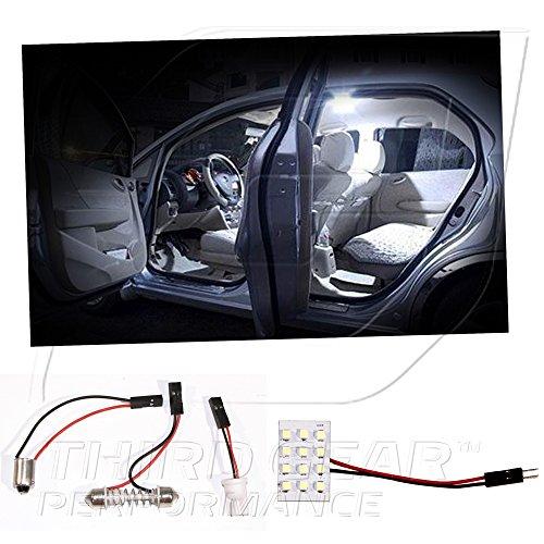 TGP White 12 LED SMD Panel Light Bulb for Dome Light Application 2000-2005 Toyota Celica