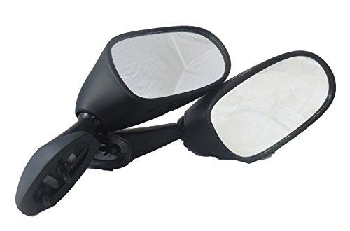Tornado Brand Replacement Mirror Set For 1998-2002 Yamaha R6 Black