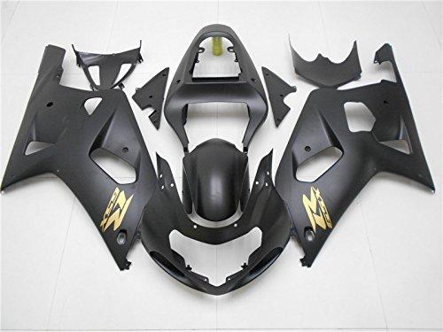 2001 2002 2003 Matte Black Injection Fairing Kit Fit for SUZUKI GSXR600 GSX-R750 Motorcycle Bodywork