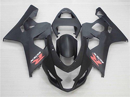 2004 2005 Matte Black Injection ABS Fairing for SUZUKI GSXR600750 Body Kit