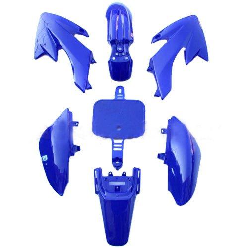 Plastic Body fairing Kit for HONDA CRF 50 XR 50 CRF50 XR50 Style 50 cc 70cc 90 cc 110cc 125 cc Pit Bike Dirt Bikes Blue