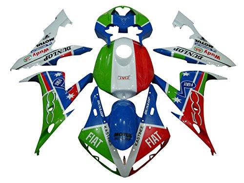 Tencasi Body Fairing For Yamaha YZF1000 R1 2004 2005 2006 Injection Bodywork Fairing Cover