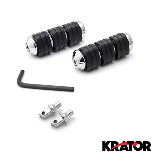 Krator® Kawasaki / Suzuki / Yamaha Rear Foot Pegs - Vulcan Mean Streak Marauder Boulevard V-star And More! (1987
