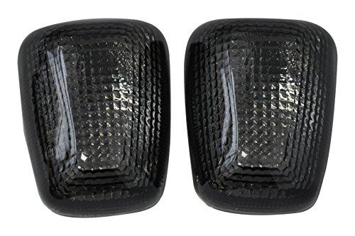 Bright2wheels 96-99 GSXR600750 97-04 TL1000 99-04 S Smoke Motorcycle Front Turn Signal for 99-04 SV650 99-07 GSXR1300 98-04 Katana