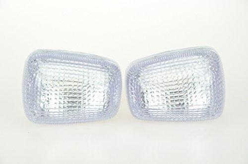 Topzone Lighting Clear Motorcycle Indicators Turn Signal Lens For Suzuki 96-99 Gsxr600750 97-04 Tl1000 99-04 Sv650 99-07 Gsxr1300 98-04 Katana