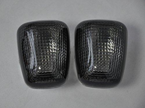 Topzone Smoked Motorcycle Indicators Turn Signal Lens For Suzuki 96-99 Gsxr600750 97-04 Tl1000 99-04 Sv650 99-07 Gsxr1300 98-04 Katana