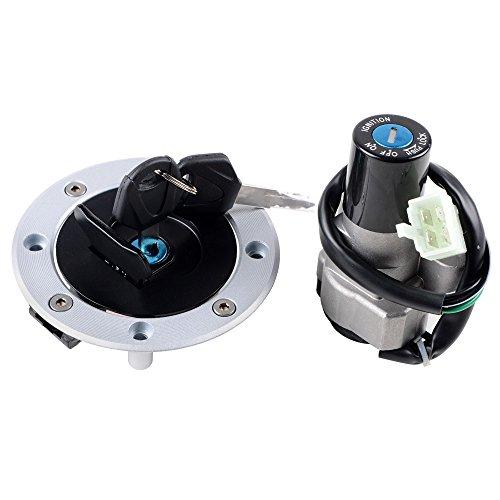 Ignition Switch  Fuel Tank Cap  2X Keys Set for Suzuki GS500 RGV 250 GS600F GSF1200 Bandit 1200 GSXR1000 GSXR1300 Hayabusa SV650 TL1000R