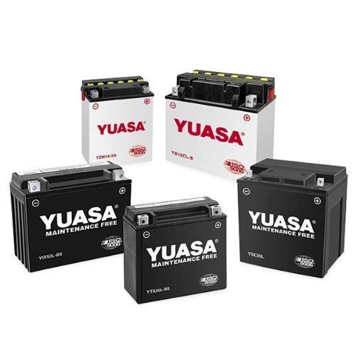 Yuasa YB10L-B2 YuMicron Battery for 1988-2010 Suzuki DR650SEGSX600GS500 Model