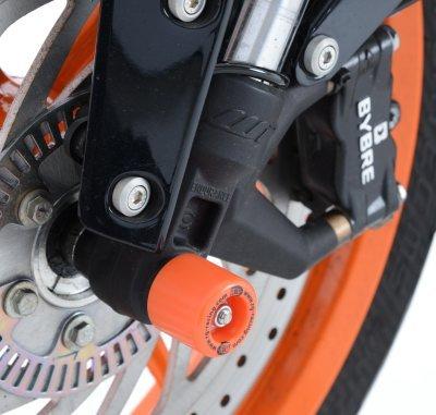 R&g Axle Sliders (front), Ktm 125/200/390 Duke