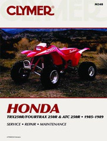 Clymer Repair Manual for Honda ATV TRX250R ATC 250R 85-89