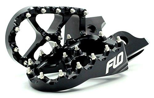 Flo Motorsports Black Suzuki RMZ 250450 Foot Pegs Fpeg-796blk