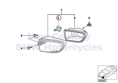 BMW Genuine Motorcycle Light Lamp Bulb H7 55W R1100S K1200LT K1200RS C600 Sport C650GT R1200GS R1200GS Adventure R1200RT R900RT HP2 Sport R1200S K1200S K1300S K1200GT K1200RS HP4 K1200R K1200R Sport