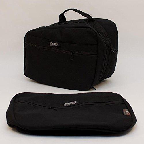 KJD LIFETIME inner saddlebag liners for BMW R1200RT K1200GT K1300GT etc  BEVOPblk  Black
