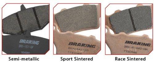 Braking Semi Metallic Brake Pad Rear for BMW HP2 K1300 R1200