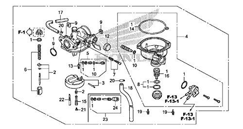 HONDA 16100-HP2-672 CARBURETOR PB5FB A