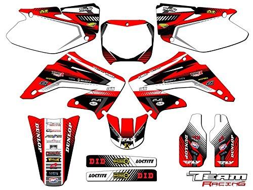 Team Racing Graphics kit for 2002-2003 Honda CR 125250 ANALOG