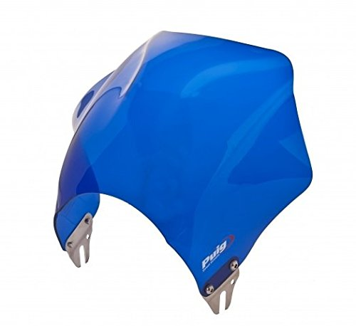 Puig 0013A Blue Raptor Universal Windshield