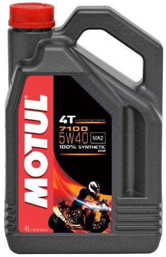 Motul 7100 4T Synthetic Ester Motor Oil - 5W40 - 4L 104087