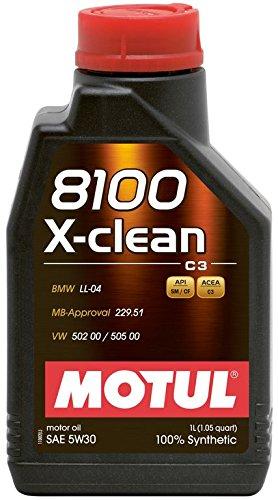 Motul 8100 5W30 X-Clean Engine Oil 1L Pack of 6