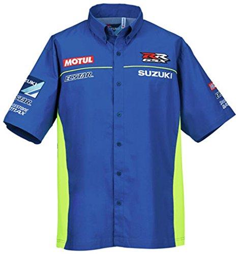 Suzuki Ecstar Motul MotoGP Button Up Pit Shirt MEDIUM