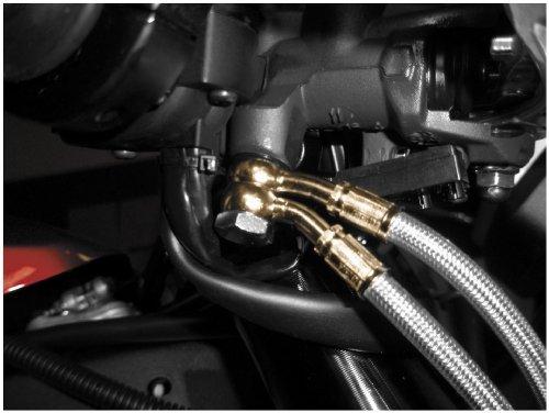 Galfer Suzuki SV650 99-02 Clear Stainless Steel Front Brake Lines