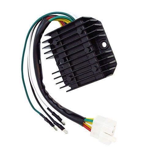 Li Bai Voltage Regulator Rectifier Combo for Honda CB350F CB400F CB500 CB550 CB750 1969-78 OEM 31700-333-008 31400-300-035