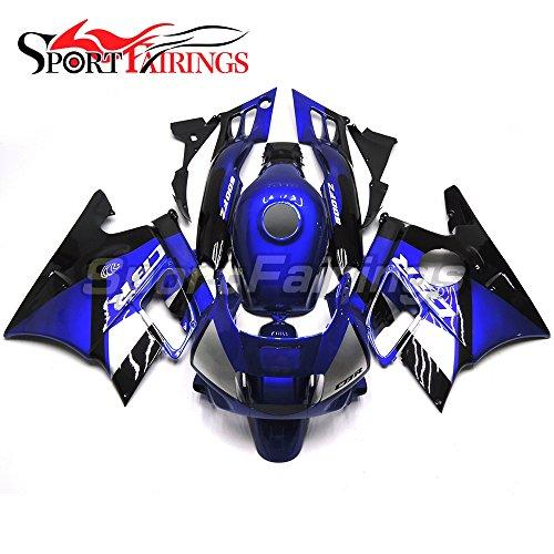 Sportfairings Motorcycle Complete Fairing Kits For Honda CBR600 F2 Year 1991 1992 1993 1994 Blue Sportbike