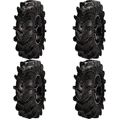 Set of 4 ATV ITP Tires Cryptip 30x10-14 FrontRear