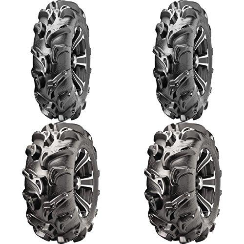 Set of 4 ATV ITP Tires Mega Mayhem 27x9-12 Front 27x11-12 Rear