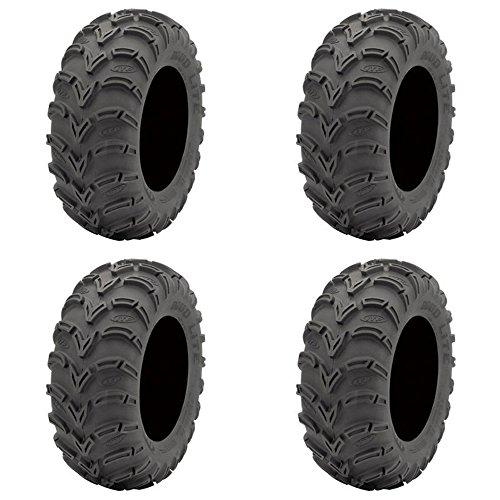 Set of 4 ATV ITP Tires Mud Lite AT 24x9-11 FrontRear