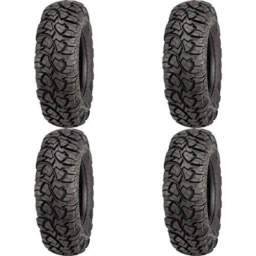 Set of 4 ATV ITP Tires Ultracross R Spec Radial 30x10R-14 FrontRear