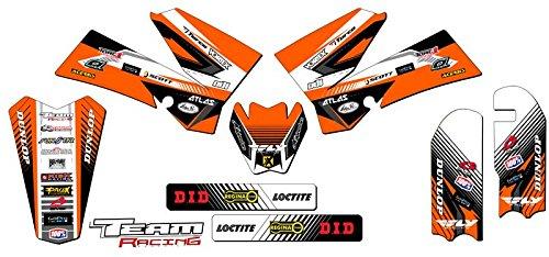 Team Racing Graphics kit for 2006-2012 KTM SX 85105 ANALOG Base kit