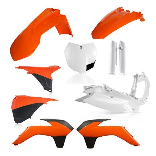 Acerbis Full Plastic Kit - Orange