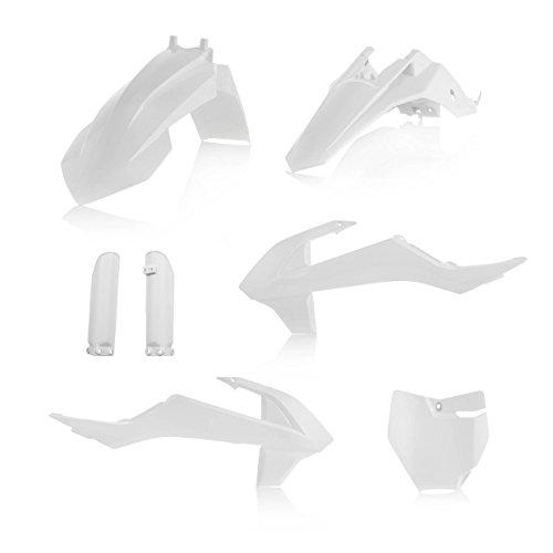 Acerbis Full Plastic Kit - White