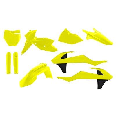 Acerbis Full Plastic Kit Flo Yellow for KTM 250 SX-F 2016-2018