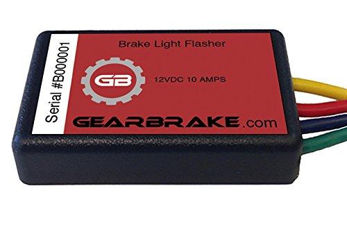 Gear Brake Plug and Play Harley Brake Light Flasher - GB-2-1-102