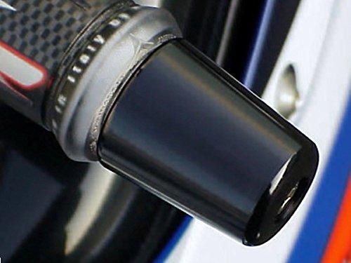 i5 Kawasaki Ninja 250 300 500 650 ZX6 ZX7 ZX9 ZX10 ZX12 ZX14 BLACK BAR ENDS