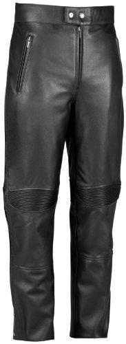 River Road Bravado Leather Overpant  Size 44 Gender MensUnisex Primary Color Black Apparel Material Leather Distinct Name Black XF09-4870