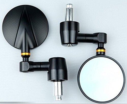One pair of CNC Billet Bar End Mirrors for KTM 690 DUKER
