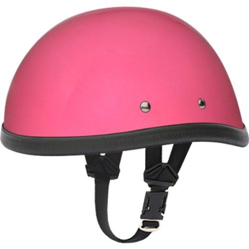 Daytona Eagle BasicCustom Novelty Cruiser Motorcycle Helmet - Hi-Gloss Pink  Medium