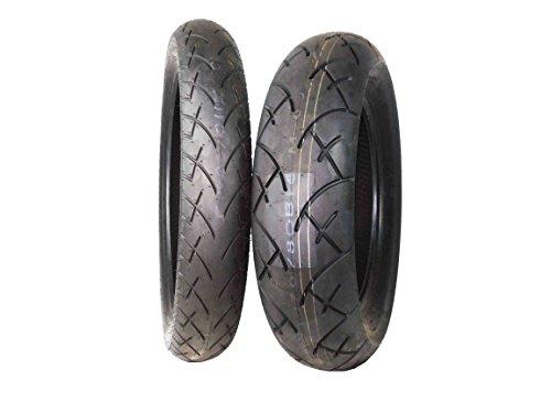 Full Bore 11090-19 Front 17080-15 Rear Set Tour King Cruiser Motorcycle Tires