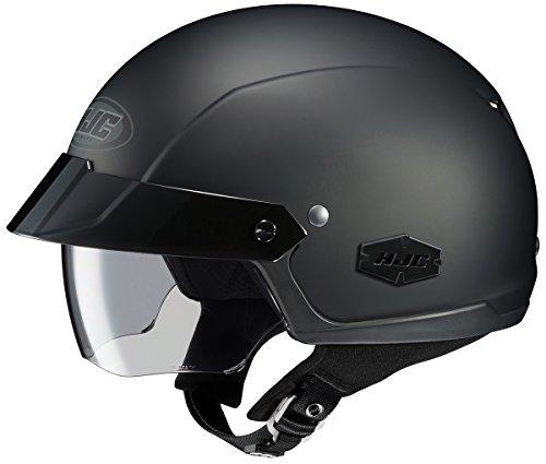 HJC IS-Cruiser Motorcycle Half-Helmet Matte Black X-Large