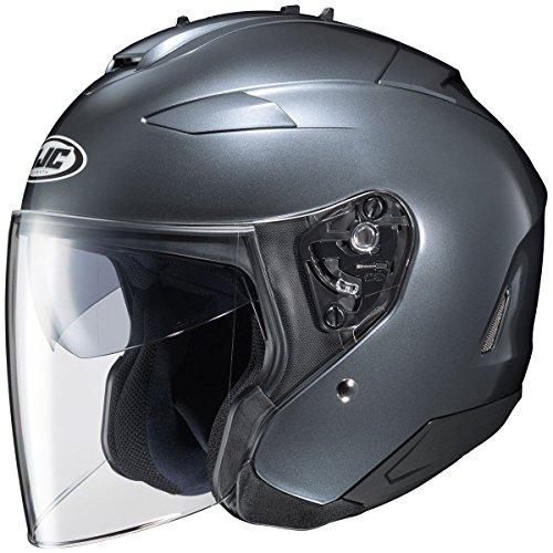 HJC Solid Adult IS-33 II Cruiser Motorcycle Helmet - Anthracite Large